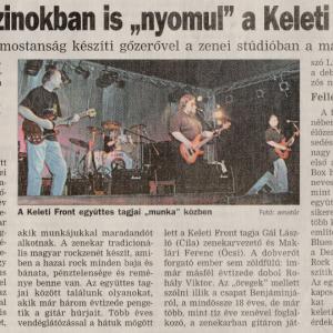 "Rockmagazinokban is ""nyomul"" a Keleti Front"